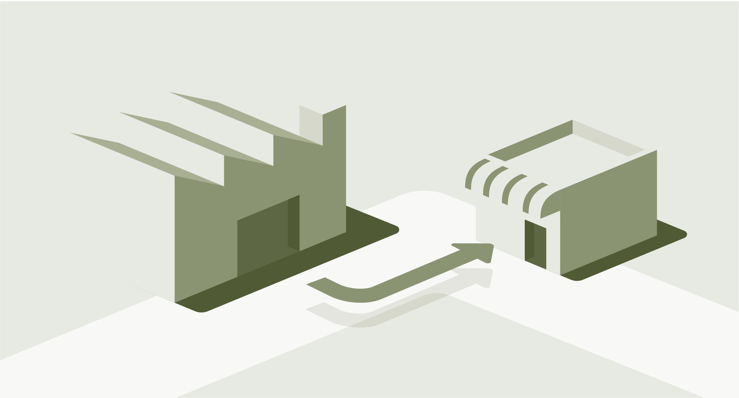 주류 공급 및 기업간 연결 이미지
